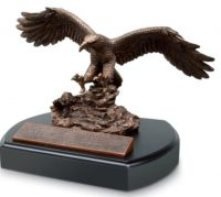 EAGLE plaque Scripture: Isaiah 40:31