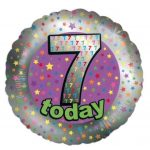 18 Inch 7 Today Foil Balloon