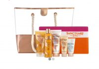 Sanctuary Spa Golden Summer Beach Bag and Towel