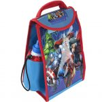 AVENGERS 30 X 20CM Lunch Bag With Bottle Licence Product.