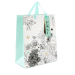 Flowers & Butterflies Small Gift Bag